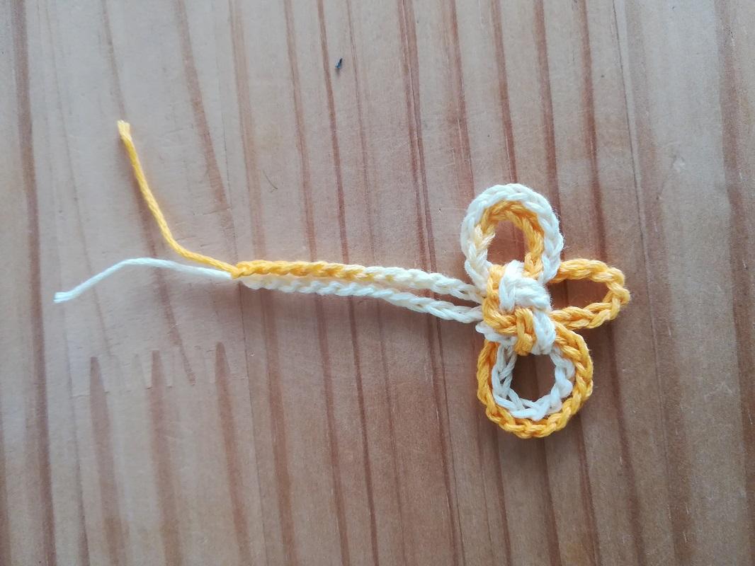 二重叶結びの結び方