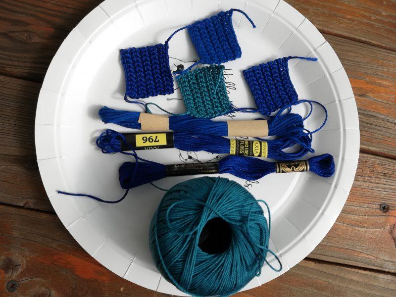 ダイソーとセリアの刺繍糸とDMCの刺繍糸を比較してみた