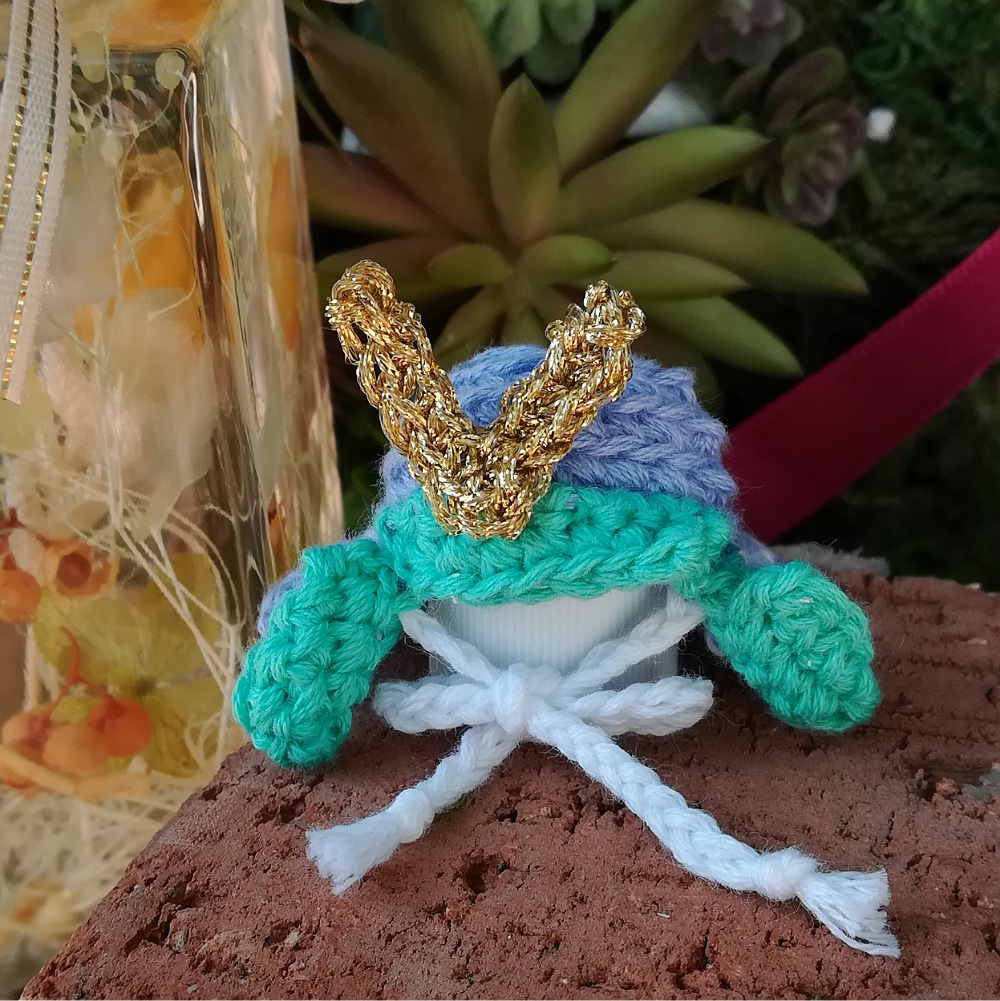 かぎ針編み「兜飾り」の編み方
